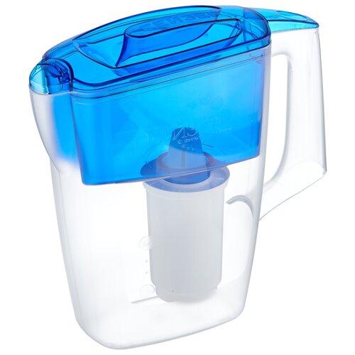 Фильтр кувшин Гейзер Альфа 2.5 л синий фильтр кувшин гейзер дельфин 62035 сиреневый 3 0 л