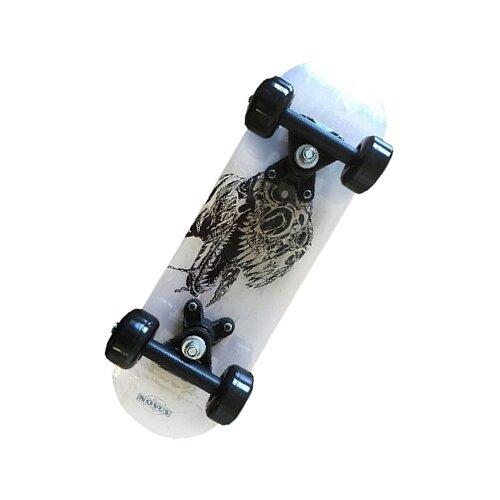 Скейтборд Novus NSB-19.02 белый/черный