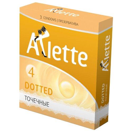 Презервативы Arlette Dotted (3 шт.) презервативы my size 60 193 36 шт
