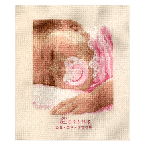 Купить Vervaco Набор для вышивания Сладкие сны 16 x 19 см (0011692-PN), Наборы для вышивания
