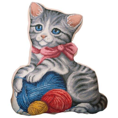 Купить PANNA Набор для вышивания Подушка. Мой котенок 35.5 x 42.5 см (ПД-1884), Наборы для вышивания