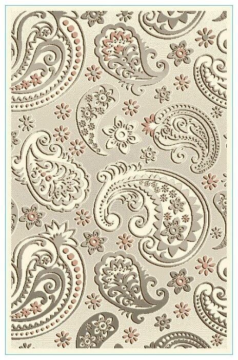 Люберецкие ковры Ковер кашемир 50134-26 овал 1x2 м.