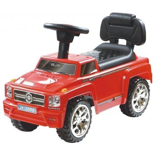 Купить Каталка-толокар RiverToys Mercedes JY-Z09B со звуковыми эффектами красный, Каталки и качалки