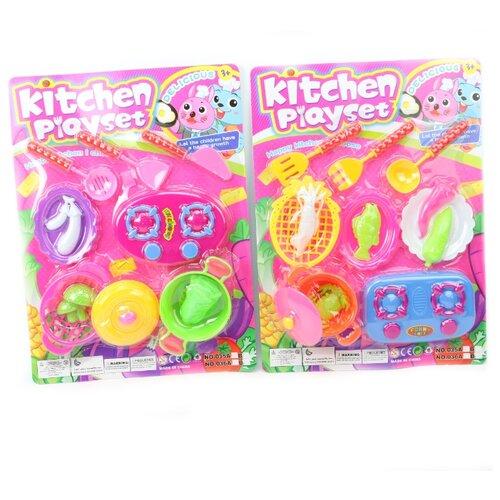 Купить Набор пластиковой посуды Kitchen Playset 1 , Альтаир, Детские кухни и бытовая техника