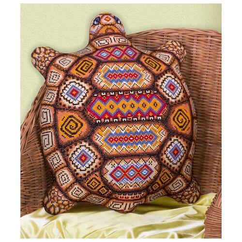 Купить PANNA Набор для вышивания Подушка-Черепашка 36 х 44 см (ПД-1551), Наборы для вышивания