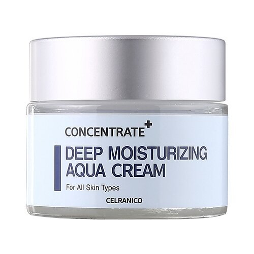 Celranico Deep Moisturizing Aqua Cream Глубоко увлажняющий крем для лица, 50 мл глубоко увлажняющая эмульсия calranico deep moisturizing aqua emulsion