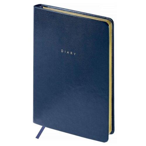 Купить Ежедневник OfficeSpace Windsor недатированный, искусственная кожа, А5, 136 листов, синий, Ежедневники, записные книжки