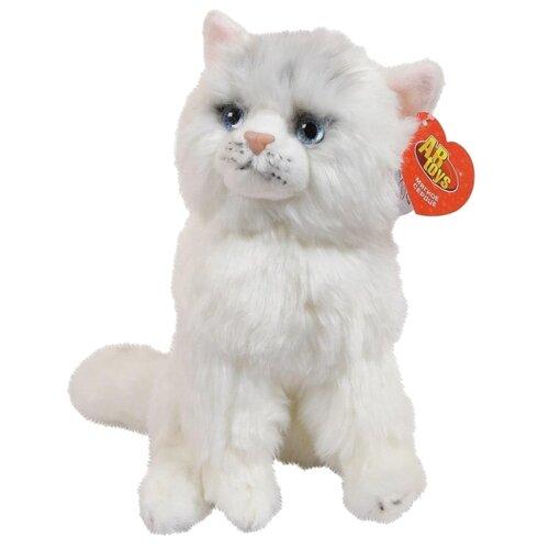 Купить Мягкая игрушка ABtoys Домашние любимцы Кошечка белая 24 см, Мягкие игрушки