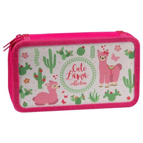 Купить ArtSpace Пенал Ламы (ПК11-20_26310) розовый, Пеналы