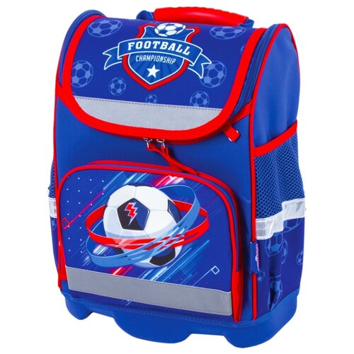Юнландия ранец Wise Championship (228813), синий юнландия ранец extra sports ball 228802 синий оранжевый