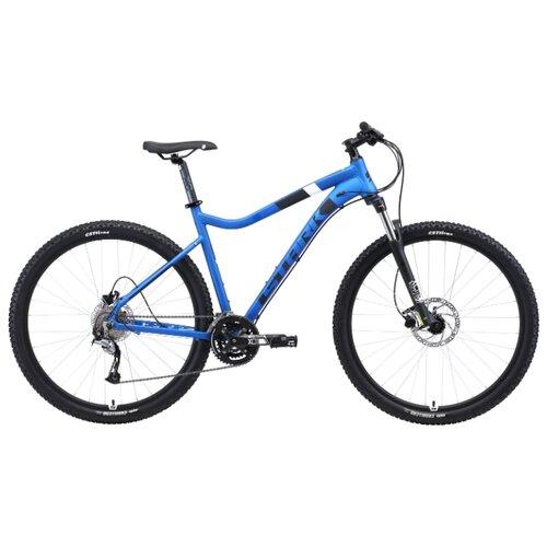 цена на Горный (MTB) велосипед STARK Tactic 29.5 HD (2019) голубой/черный/белый 18 (требует финальной сборки)