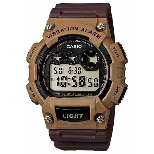 цена Наручные часы CASIO W-735H-5A онлайн в 2017 году