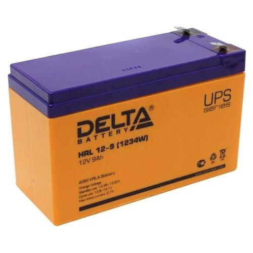 Аккумуляторная батарея DELTA Battery HRL 12-9 (1234W) 9 А·ч