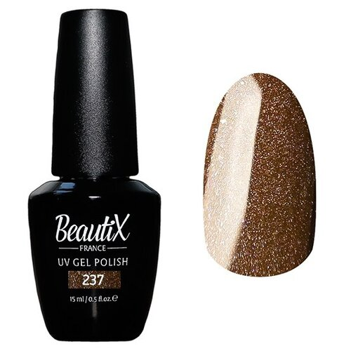 Гель-лак для ногтей Beautix UV Gel Polish, 15 мл, 237 australian gold спрей гель spf 15 spray gel bronzer 237 мл