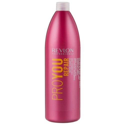 Revlon Professional шампунь Pro You Repair 1000 мл revlon шампунь для волос восстанавливающий pro you repair shampoo 350 мл