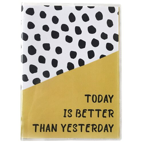 Купить Ежедневник Sammy ICON Today Is Better Than Yesterday Mini недатированный, 144 листов, фисташковый, Ежедневники, записные книжки