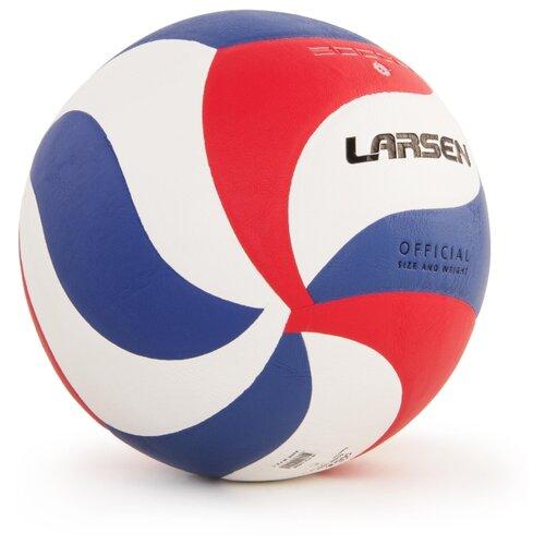 Волейбольный мяч Larsen 5000B белый/красный/синий по цене 1 153