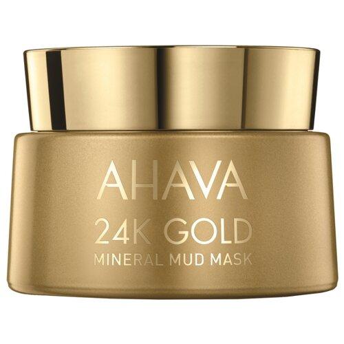 маска Ahava Mineral Mud с золотом 24к, 50 мл