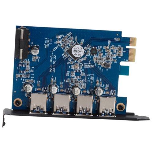 USB 3.1 Gen1 контроллер ORICO PVU3-4P черный