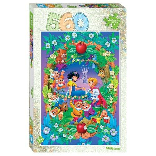 Пазл Step puzzle Любимые сказки Белоснежка (78102), 560 дет. пазл step puzzle черепашки ниндзя 97070 560 дет