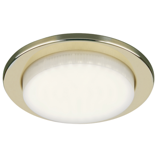 Встраиваемый светильник Elektrostandard 1035 GX53 GD встраиваемый светильник elektrostandard 1066 gx53 ch хром 4690389078682