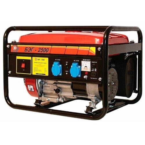 цена на Бензиновый генератор КАЛИБР БЭГ-2500 (2000 Вт)
