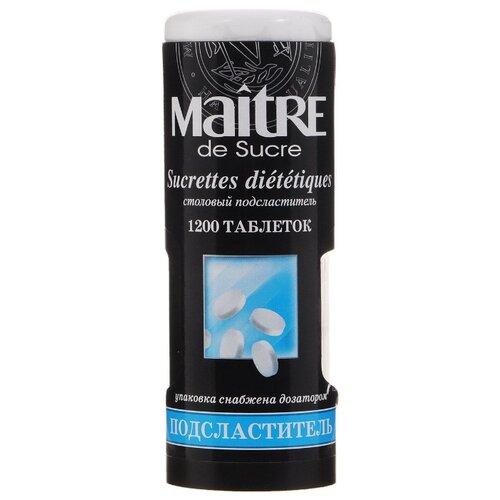 Maitre подсластитель столовый таблетки 1200 шт.