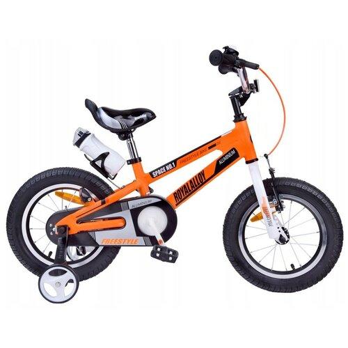 Детский велосипед Royal Baby RB12-17 Freestyle Space №1 Alloy Alu 12 оранжевый (требует финальной сборки) двухколесные велосипеды royal baby freestyle space 1 alloy 14