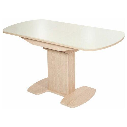 Стол Аврора Корсика Молочный 110х70х74.2 см