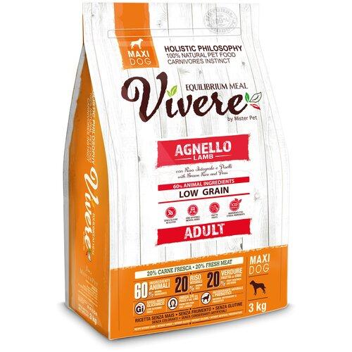 Фото - Сухой корм для собак Vivere ягненок 3 кг (для крупных пород) сухой корм для собак vivere ягненок 3 кг для средних пород