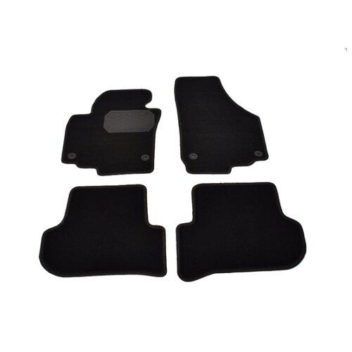 Комплект ковриков NorPlast NPL-VTe-810-900 Skoda Yeti 4 шт. черный