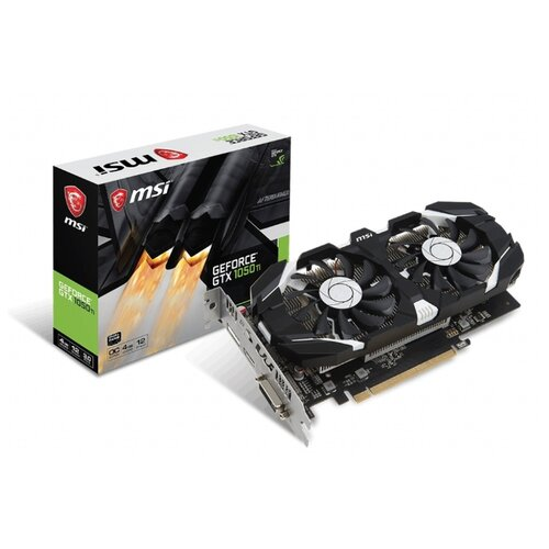 Купить Видеокарта MSI GeForce GTX 1050 Ti 1341MHz PCI-E 3.0 4096MB 7008MHz 128 bit DVI HDMI DisplayPort HDCP OC V1 Retail
