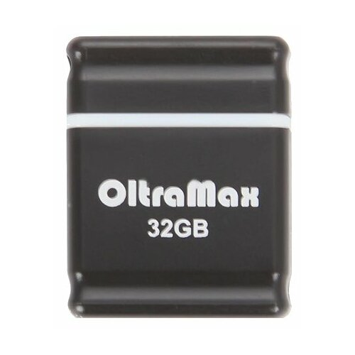 Фото - Флешка OltraMax 50 32GB black флешка oltramax 240 16gb red