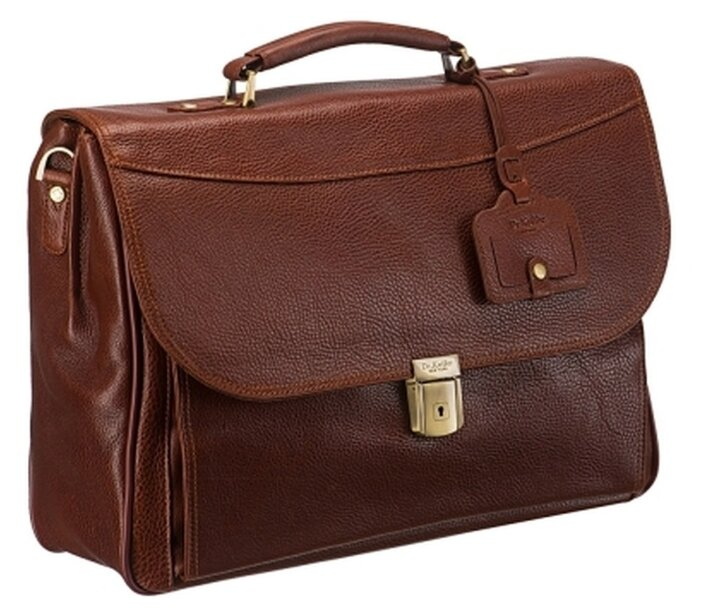 Портфель для мужчин Dr.Koffer B284320, натуральная кожа