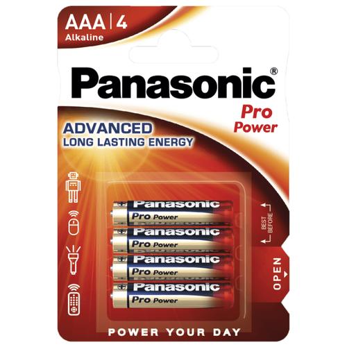 Фото - Батарейка Panasonic Pro Power AAA/LR03, 4 шт. батарейка panasonic evolta aaa lr03 4 шт