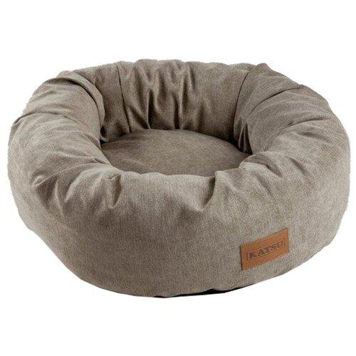 Лежак для собак и кошек Katsu Rondo 50х50 см бежевый