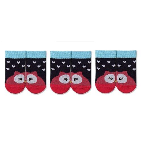 Купить Носки НАШЕ комплект из 3 пар, размер 14 (12-14), темно-синий