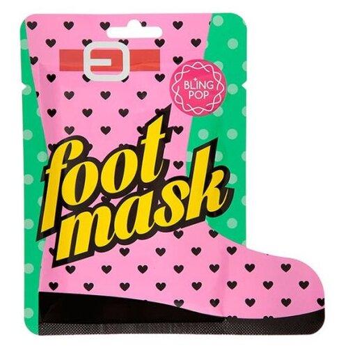 BLING POP Маска для ног с маслом ши Shea Butter Healing Foot Mask 18 г