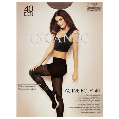 цена Колготки Incanto Active Body 40 den, размер 3, daino (коричневый) онлайн в 2017 году
