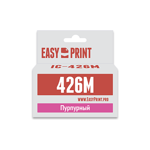 Фото - Картридж EasyPrint IC-426M, совместимый картридж easyprint ic pgi450bk xl совместимый