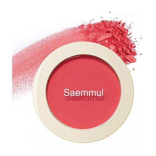 The Saem Румяна Saemmul Single Blusher PK01 Bubblegum pink