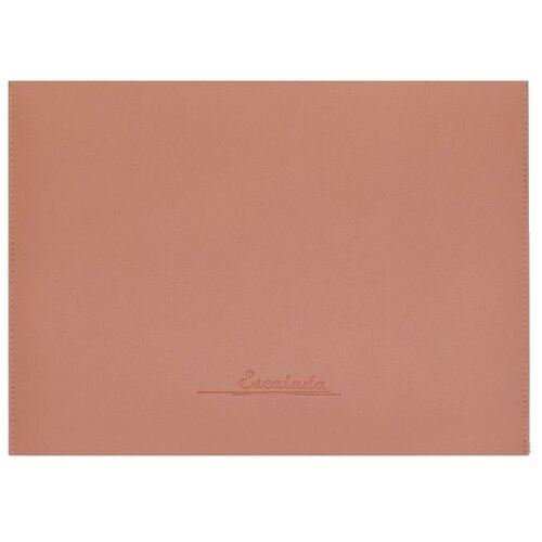 Escalada Папка для документов Наппа розовый + наппа серебряный А4 (47090) розовый