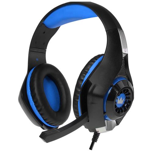Компьютерная гарнитура CROWN MICRO CMGH-102T blue