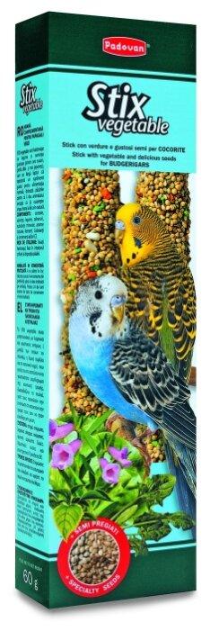 Лакомство для птиц Padovan Stix Vegetable для волнистых попугаев овощные