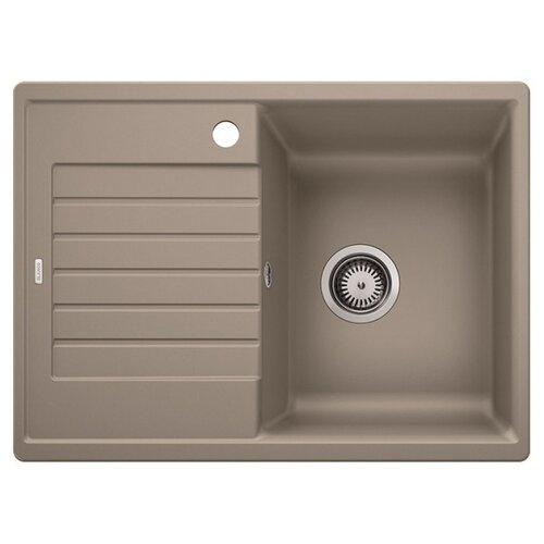 Врезная кухонная мойка 68 см Blanco Zia 45S Compact серый беж blanco sona 45s silgranit серый беж