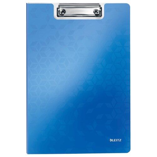 Купить Leitz Папка-планшет с верхним прижимом WOW A4, полифом синий, Файлы и папки