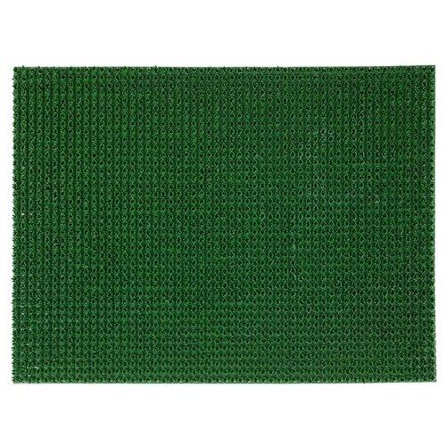 Ковровая дорожка VORTEX Травка, размер: 0.6х0.45 м, зеленый фиксатор для ковров vortex 22 22 мм