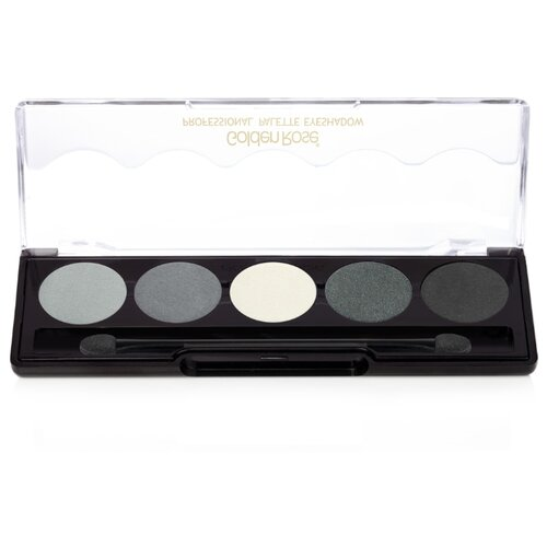 Golden Rose Палетка теней для век Professional Palette Eyeshadow 104 grey line