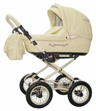 Универсальная коляска Esperanza Classic Leatherette (2 в 1) — купить по выгодной цене на Яндекс.Маркете
