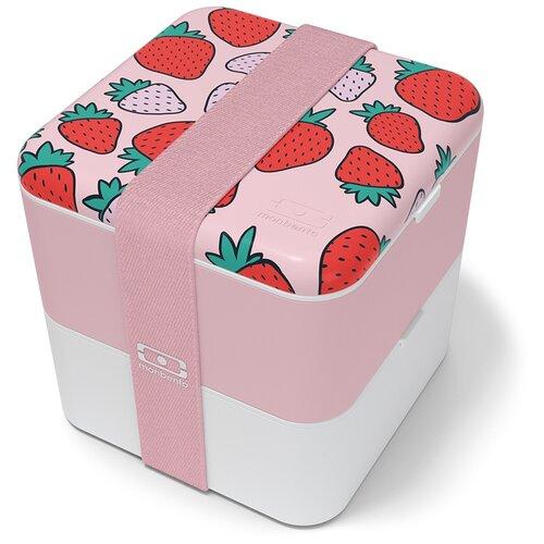 Фото - Monbento Ланч-бокс Square, 14x14 см, strawberry monbento ланч бокс tresor 16x10 4 см горчичный